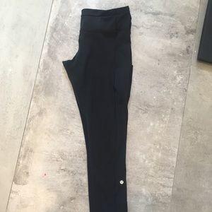 Lululemon black speed tights leggings